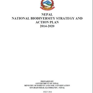 Mid-Term Monitoring and Evaluation of the National Biodiversity Strategy and Action Plan (2014-2020)